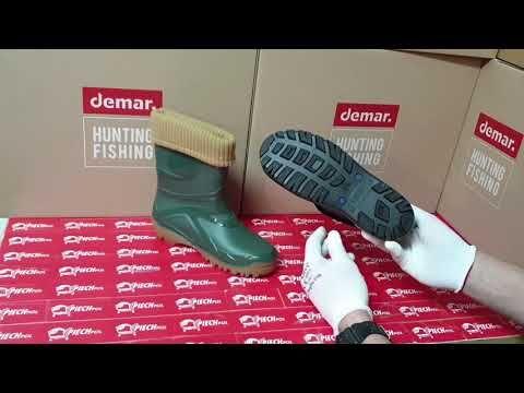 Demar Young Fur 2 Kalosze Ocieplane Welna Youtube Hunter Boots Rubber Rain Boots Boots
