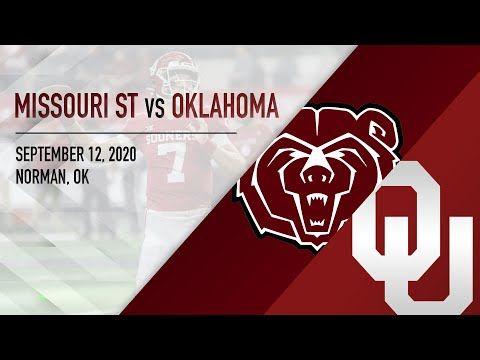 Ou Highlights Vs Missouri State 9 12 2020