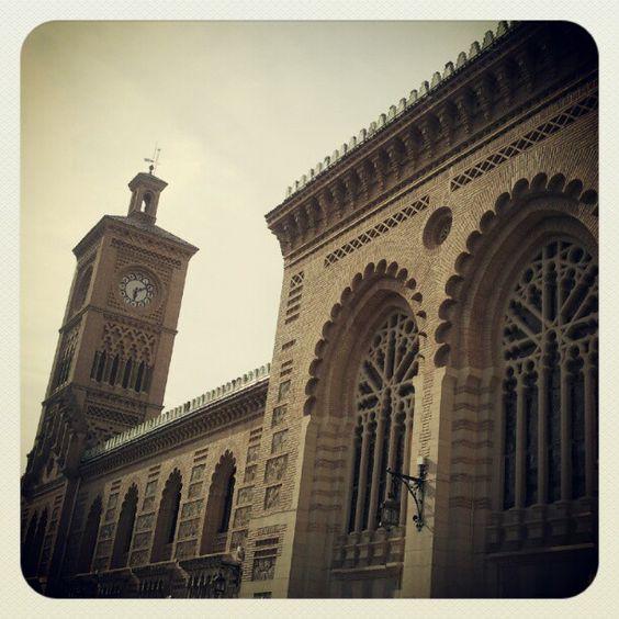 Train Station, Toledo. Spain.