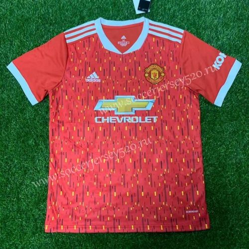 2020 2021 Manchester United Home Red Thailand Soccer Jersey Aaa In 2020 Soccer Jersey Manchester United Football Club Manchester United Football
