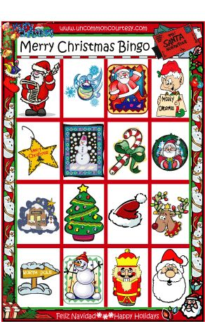 christian christmas bingo - photo #23