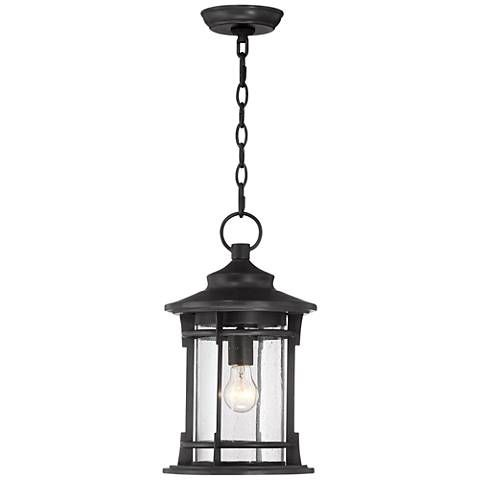 Grenville 16 3 4 High Bronze Outdoor Hanging Light 33p91 Lamps Plus Outdoor Hanging Lights Hanging Lights Outdoor Light Fixtures