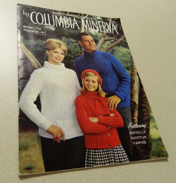Columbia  Minerva Great American Knits 1968 by timelapse on Etsy, $5.00