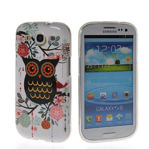MOONCASE Cute Owl Design Soft Gel Tpu Silicone Skin Slim Back Case Cover For Samsung Galaxy S3 I9300 MOONCASE http://www.amazon.com/dp/B00KEMB57Q/ref=cm_sw_r_pi_dp_Du0dub1ZX9V35