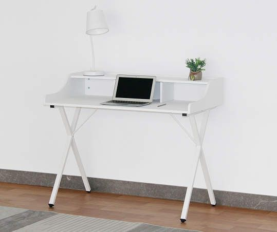 Just Home Faux Marble White Desk Big Lots In 2020 White Writing Desk White Desk Design Small White Desk