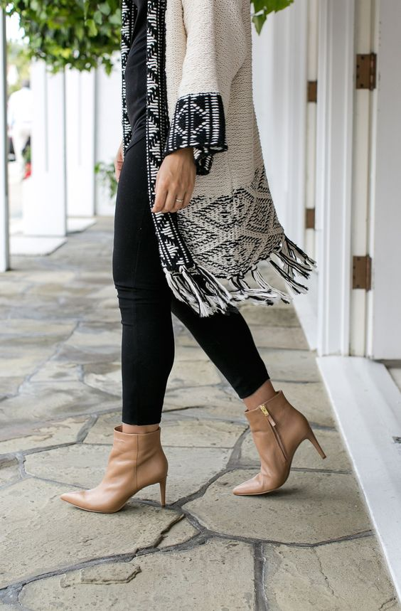Love these Sam Edelman booties for fall. Super comfortable and chic, not to mention they go with pretty much everything. @Nordstrom: