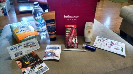 Thanks #influenster for this awesome #ModaVoxBox. I get to test and try and all these products free thanks to #influenster!