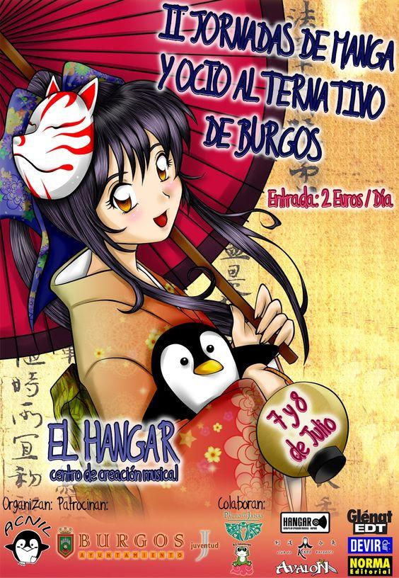 Ocio alternativo de Burgos (mangas)