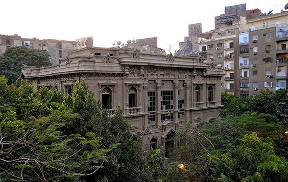 Palacio del Príncipe Said-Hasim, El Cairo, abandonado