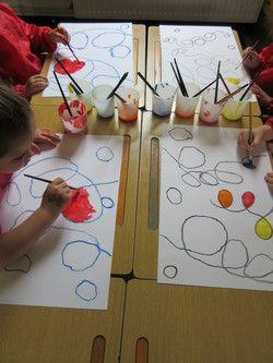 MS/ GRAPHISME et ART / LES BOUCLES / Alexander Calder - Classe de Sof en maternelle
