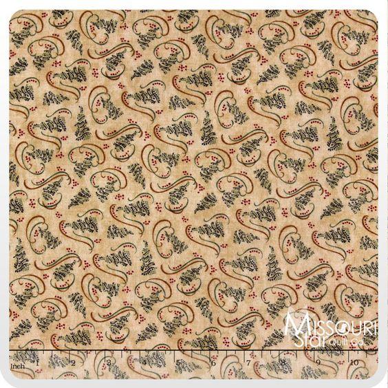 Christmas Spirit - Grain Brushed Yardage from Missouri Star Quilt Co