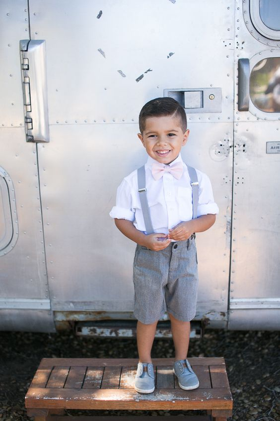 Dress your ring bearer in one of these impossibly stylish outfits! | Kaysha Weiner Photographer & Pure Lavish Events