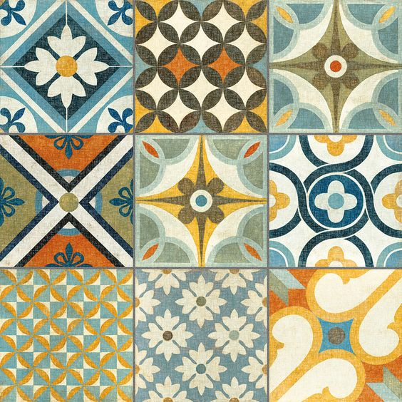 Mosaic Tapas patchwork tiles from The Reclaimed Tile Company | Patchwork tiles micro trend 2014 | Trends | housetohome.co.uk