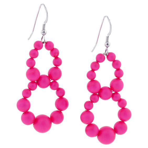 Glowing My Way earrings on Fusion Beads