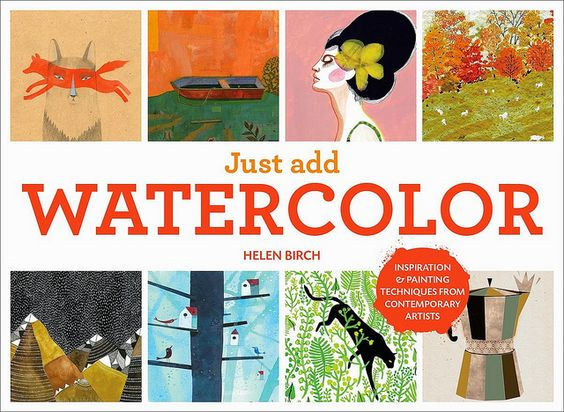 New Book: Just Add Watercolour