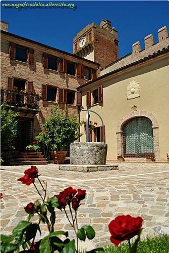 Davvero un ... fior fiore di Borgo. - GRADARA - inserita il 19-Jun-13