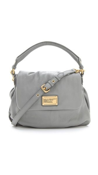 This colour of Marc is stunning. Storm Cloud bag, Shopbop.