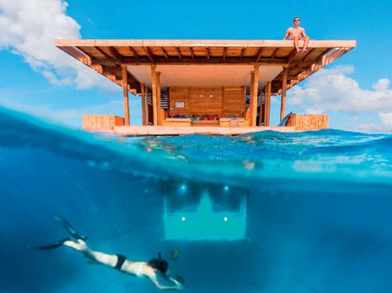 The Underwater Room - The Manta Resort, Tanzânia