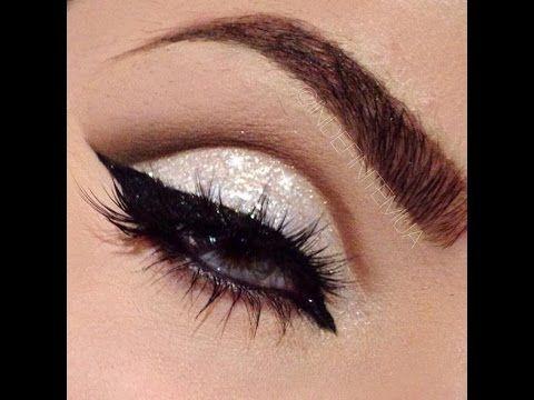 Maravilha: Maquiagem dourada para formatura, Maquiagem Cut Crease