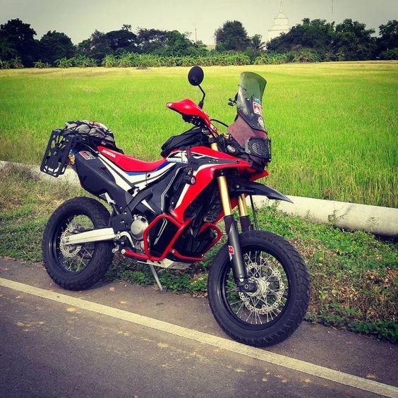 Tutoฝon12 On Instagram My Crf250rally Camping Touring Bkk Club2561 Motorrad