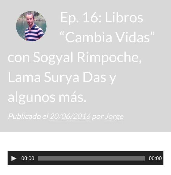 Nuevo audio hablando de libros Cambia Vidas! callateyhazyoga.com/blog/cinco-libros-de-yoga-para-un-cambio-de-vida/