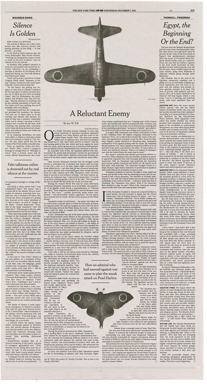 """yamamoto"" Illustrations by Sam Weber - AD Matt Dorfman. The New York Times."