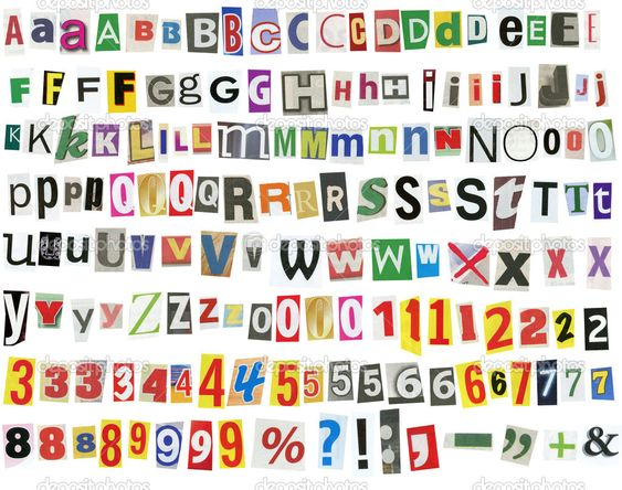 Magazine letters magazine letters font magazine lettering font enderaltypark spiritdancerdesigns Image collections