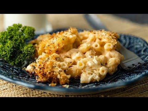 Smoked Mac And Cheese Is A Creamy Cheesy Pasta Dish With Crispy Crumb Coating Make This Recipe In A Wo In 2020 Smoked Mac And Cheese Pasta Side Dishes Mac And Cheese