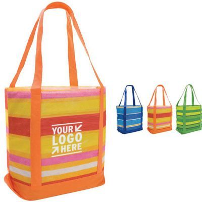 Poly Pro Patterned Boat Tote