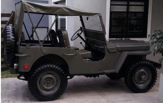 En Venta Jeep Willys 4 X 4 1946 Totalmente Restaurado A Nuevo