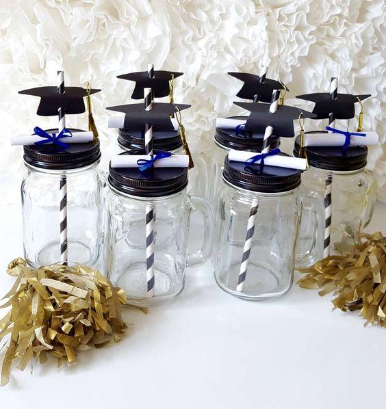 Hats off grad graduation end of school party ideas