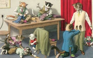 Cute Animal Art, Animal paintings and illustrations, and Animal artists: The Alfred Mainzer Company and the Dressed Animal Art of Eugen Hartung, a Critical Analysis