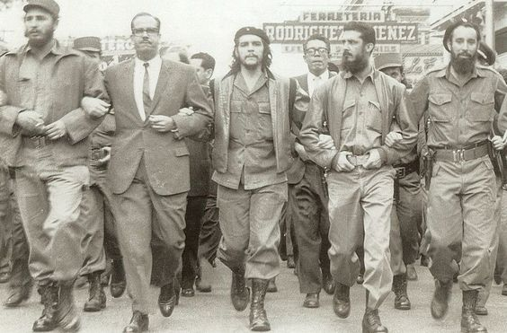 Fidel Castro: Fidel Castro was a cuban rebel. He and others overthrew the monarchy in Cuba. He was a Communist Leader and was sworn in as Prime Minister in this time. Later he became President.