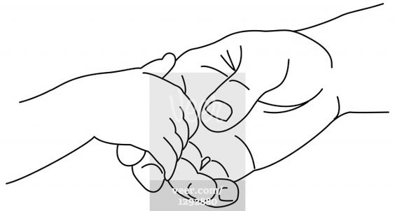 Easy Couples Holding Hands Drawings