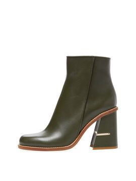 Nora Leather Boot from Tibi Shoes on Gilt