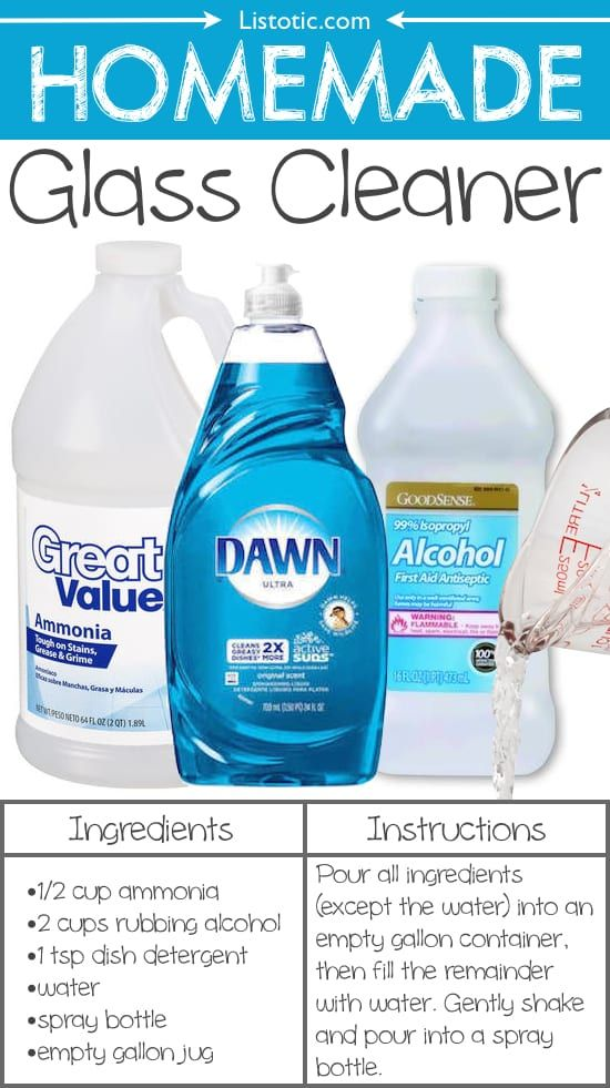 11 Homemade Glass Cleaner 22 Everyday Products You Can Easily