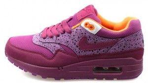 Prezzo delle nike femminili air max 1 scarpe da ginnastica rosa/viola/gialle sconti online italia