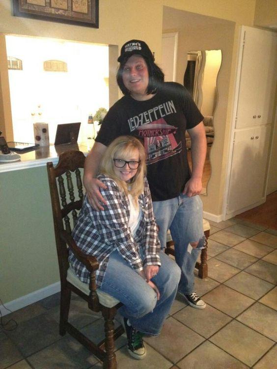 Wayne  Garth Halloween couple costume idea Halloween Pinterest - halloween couples costumes ideas