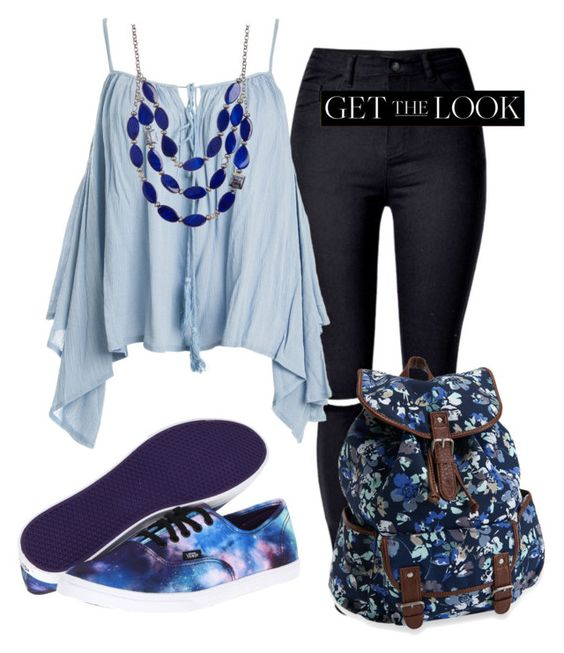 """Get the LOOK"" by karen112200 ❤ liked on Polyvore featuring Sans Souci, Vans, Aéropostale, Kenneth Cole and GetTheLook"