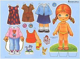 (⑅ ॣ•͈ᴗ•͈ ॣ)♡                                                            ✄Bonecas de Papel: Bonecas de Papel Coleção Estilo