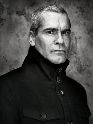Henry Rollins. that neck, yes