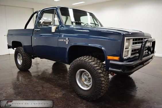 1985 Chevrolet K10 SWB Pickup, 305 4bbl V8/4speed manual/3