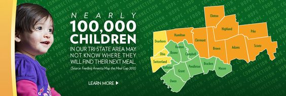 Your generosity helps the Freestore Foodbank support families and children in our Cincinnati Tri-State area. 95% of donations go directly to programs and services.