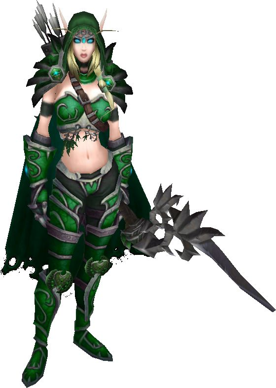 Alleria Windrunner Skin Model By Brugo