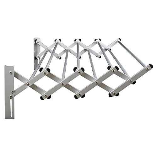Greenway Indoor Outdoor Stainless Steel Expandable Drying Rack Local Home Store Wall Drying Rack Wall Mounted Drying Rack Laundry Rack