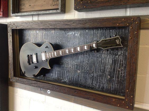 gFrames.com over 50 different custom guitar display cases