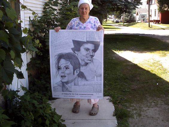 My Poster from David Ilan..I won the letter contest..its embedded in that Canvas David Ilan created for the Michael jackson tribute http://www.michaeljacksontributeportrait.com/user_home.php