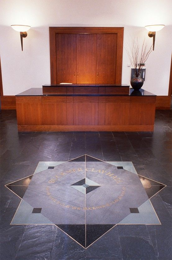University of Virginia Law School - Floor Medallion designed by Cloud Gehshan Associates