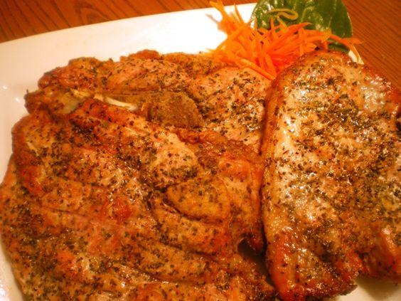 Quick recipes for baked pork chops