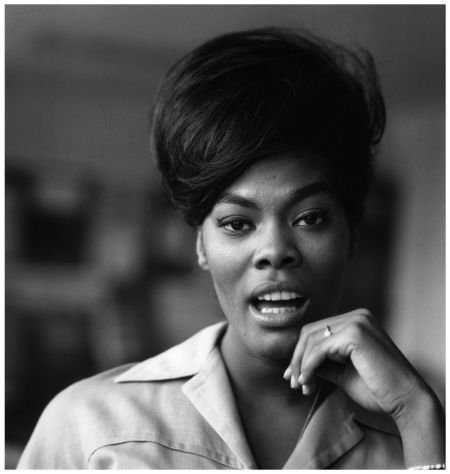"""by David Redfern / Dionne Warwick is pictured on """"Thank Your Lucky Stars"""" in Nov. 1964"""
